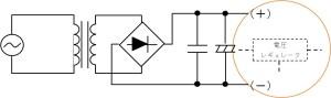 図 12:トランス方式の DC/DC 変換部分