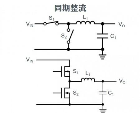 スイッチングレギュレータの基本:同期式と非同期式の違い